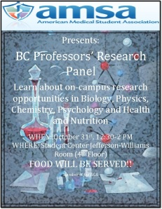 BC Professors' Research Panel