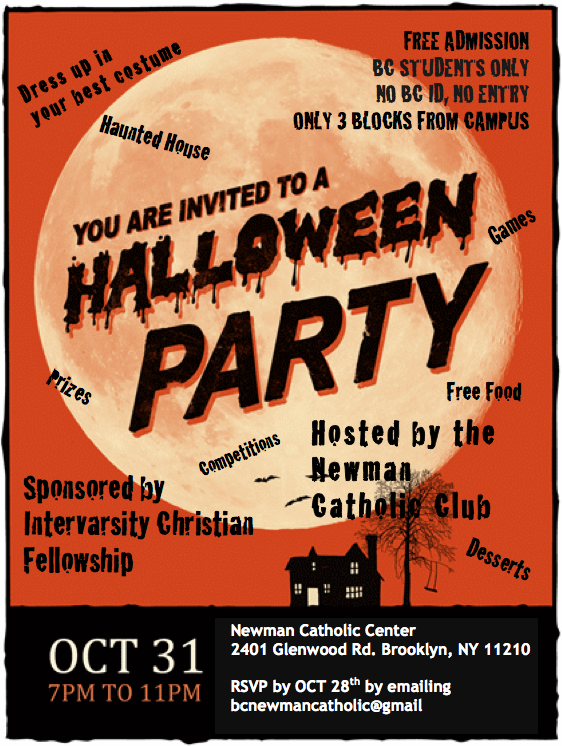 halloween party flier - Halloween Parties Brooklyn