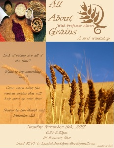 Grains Workshop