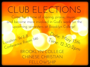 CCF Elections Poster