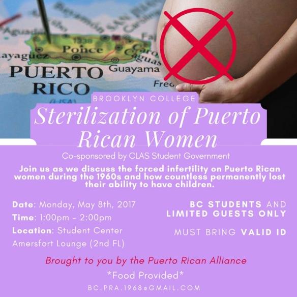 Sterilization of Puerto Rican Women